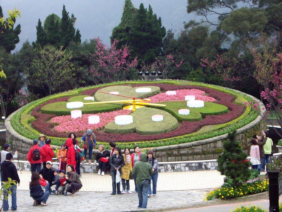 陽明山國家公園-遊憩區旁溫泉