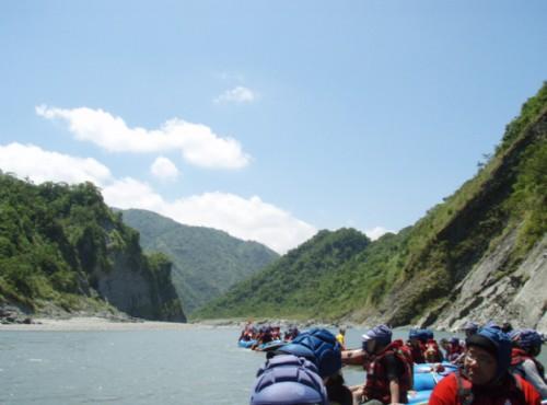 秀姑巒溪-秀姑巒溪泛舟
