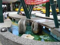 車站前泡腳池<br/> 攝影:余燕鳳