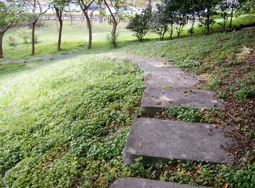 北安公园-石阶小径游园趣
