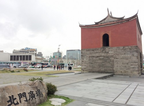 Taipei City Wall-North Gate