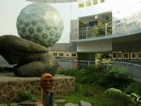 遊客中心中庭<br/> 攝影:老山羊部落格