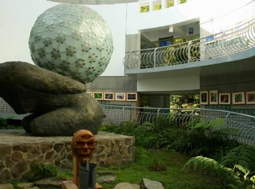 知本国家森林游乐区-遊客中心中庭