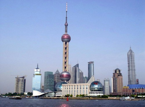 The Oriental Pearl TV Tower-Oriental Pearl