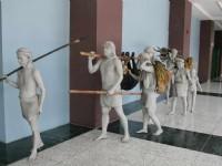 先人雕塑<br/> 攝影:老山羊部落格