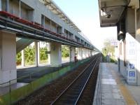 竹田車站月台<br/> 攝影:三個井