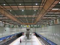 寬敞的龍山寺捷運站<br/> 攝影:簡時強
