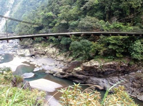 烏來溫泉-吊橋