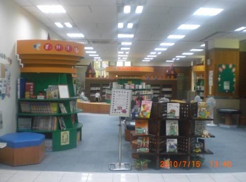 泰山親子圖書閱覽室-館內一覽,以豐富色彩呈現活潑樣貌