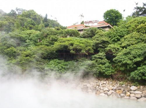地熱谷(地熱谷景觀公園)-熱泉山景
