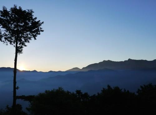 Alishan Forest Recreation Area-201407祝山觀日AM0530