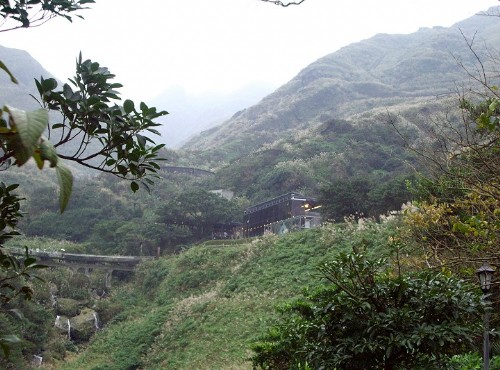 金瓜石-遠觀黃金博物館