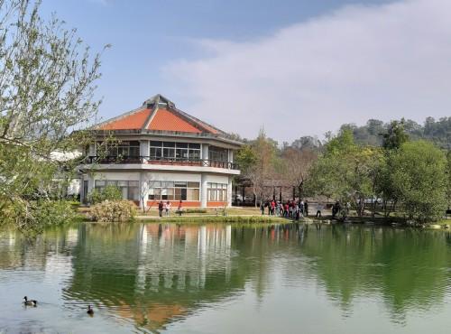 雪霸国家公园-汶水遊客中心生態湖