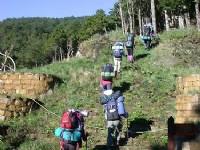 崎嶇的路<br/> 攝影:阿英的登山小站