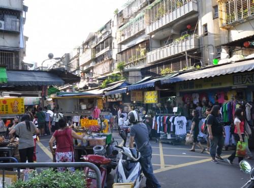 Taipei Wufengpu Shopping District-