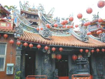 三芝福成宮-福成宮的前殿大門