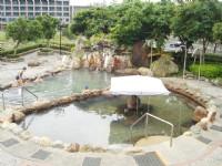 礁溪公共溫泉區SPA池<br/> 攝影:余燕鳳