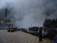 鳩之澤溫泉SPA區入口<br/> 攝影:鄭惠文