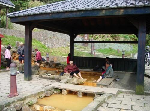 冷水坑溫泉-泡腳池
