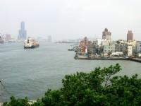 從旗津遠眺西子灣風景區<br/> 攝影:Eva隨手拍