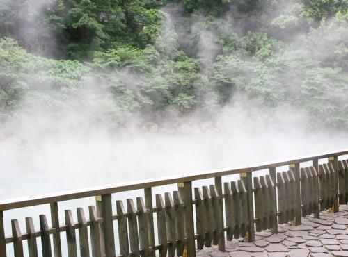 地熱谷(地熱谷景觀公園)-熱泉旁步道