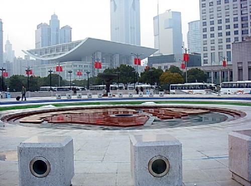 人民廣場-廣場-噴水池