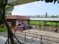 橋頭糖廠五分車站<br/> 攝影:三個井