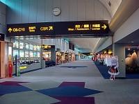 第二航廈整潔寬敞的通道<br/> 攝影:amo