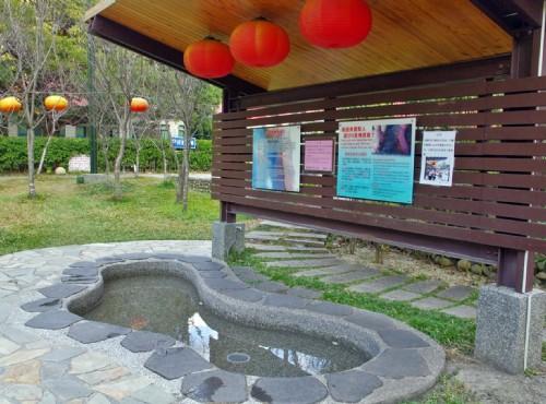 谷關溫泉-谷關遊客中心旁泡腳池