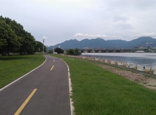 二重環狀自行車道
