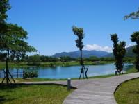 鏡心湖畔步道<br/> 攝影:旅遊王攝影組