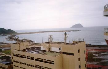 海洋大學-鳥瞰基隆嶼