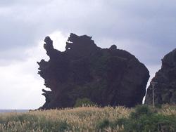 蘭嶼龍頭岩