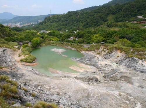 陽明山溫泉-硫磺谷地熱景觀區