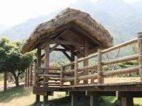 阿美族民俗村內的造景<br/> 攝影:老山羊部落格