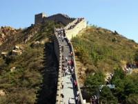 長城上渺小的人群<br/> 攝影:蔡錦城
