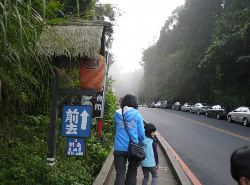 溪頭自然教育園區(溪頭森林遊樂區)-溪頭門口往妖怪村