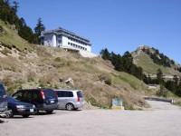 滑雪場停車場<br/> 攝影:老山羊部落格