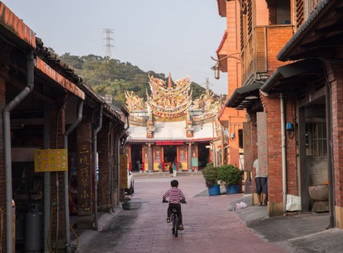 老街以永福宮為中心