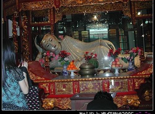 玉佛寺-臥佛像