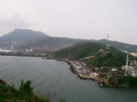 從旗後燈塔遠眺西子灣空照<br/> 攝影:eva隨手拍