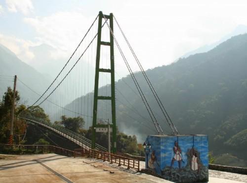 東埔溫泉-東埔村觀光吊橋