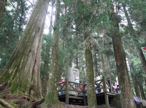 Alishan Forest Recreation Area-201407旌功碑
