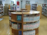 藏書豐富<br/> 攝影:新北市立圖書館