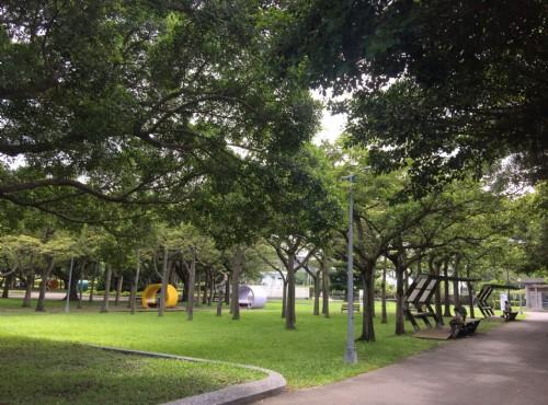Taipei Expo Park-Xinsheng Park Area-