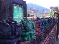 工頭宿舍的圍牆<br/> 攝影:xcatx