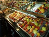 各種口味糖葫蘆<br/> 攝影:徐世英