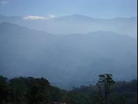 瀰漫的山景<br/> 攝影:老山羊