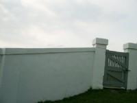 燈塔旁西式的白牆<br/> 攝影:eva隨手拍