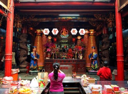 Hsinchu City God Temple-正殿
